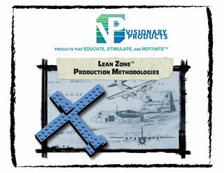 Lean Zone® Production Methodologies Lean Manufacturing, Lean Game, Lean Lego, Lean Simulation, Lean Airplane